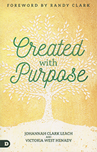 image of created with purpose book cover